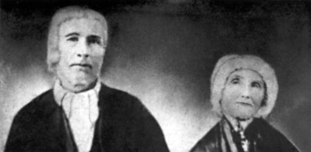 Portrait of Williamson & Betsy Hawkins