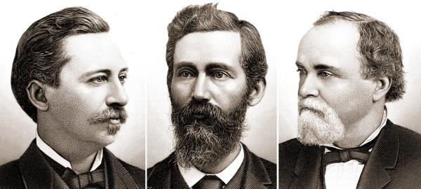 Henry Caldwell, Willis Milner & John MIlner