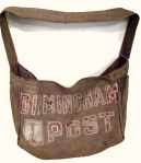 Birmingham Post newspaper bag from the collection of the Birmingham History Center