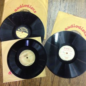 """Recordings labeled """"Louis Pizitz,"""" """"Pizitz Opening"""" and """"Legend of Louis Pizitz"""" in 10-inch (78s) and 12-inch formats. We haven't listened yet to what is recorded here."""