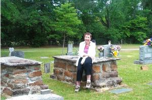 "Bobbie Hunt remembers counting the ""baby graves"" in Rogers Cemetery in north Jefferson County."